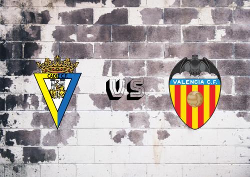 Cádiz vs Valencia  Resumen