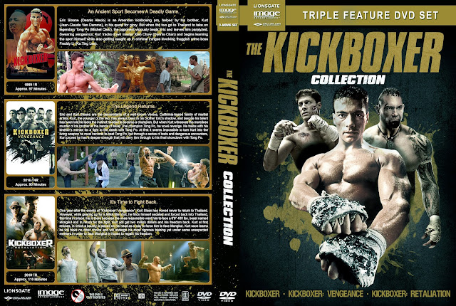 Kickboxer Collection DVD Cover