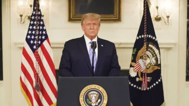 """Pagarán por ello... ataque atroz"""": Trump de vuelta en Twitter"