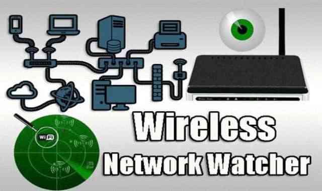 تحميل برنامج Wireless Network Watcher عملاق حماية ومراقبة شبكة الوايرلس اخر اصدار