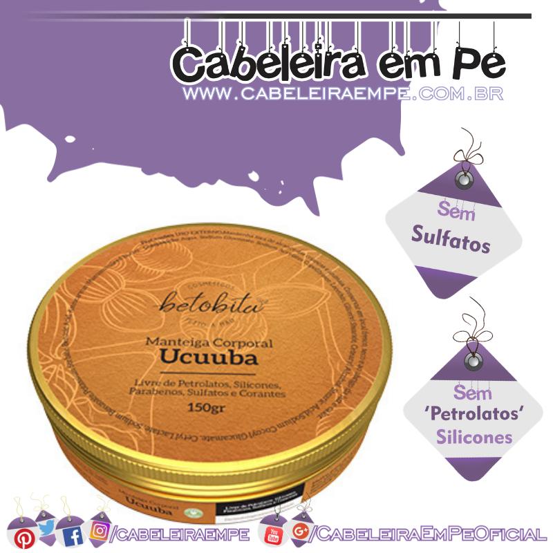 Manteiga Corporal Ucuúba - BetoBita (Sem Sulfatos e Sem Petrolatos)