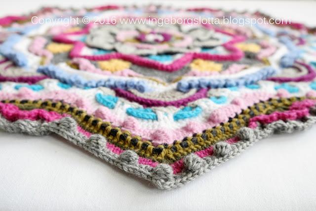 Mandala madness CAL 2016 part 7 crochet