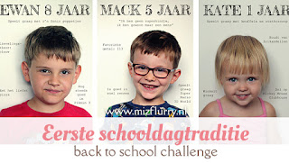 Eerste schooldagtraditie - back to school