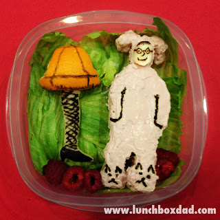 Ralphie and the leg lamp bento