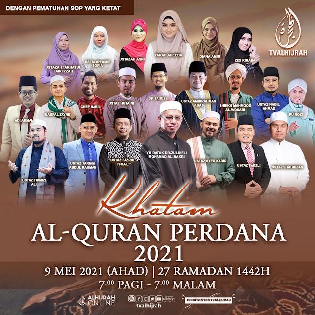 TV AlHijrah Bawakan Khatam Al-Quran Perdana Selama 12 Jam Terus Menerus