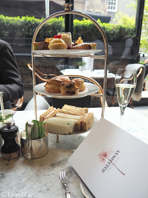 Luxury Afternoon Tea Dalloway Terrace Adventures of a London Kiwi