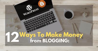 12 Ways To Make Money Online Blog: