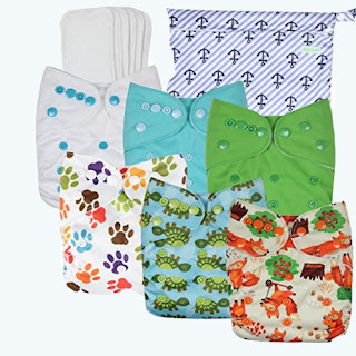 Wegreeco Washable Reusable Baby Cloth Pocket Diapers