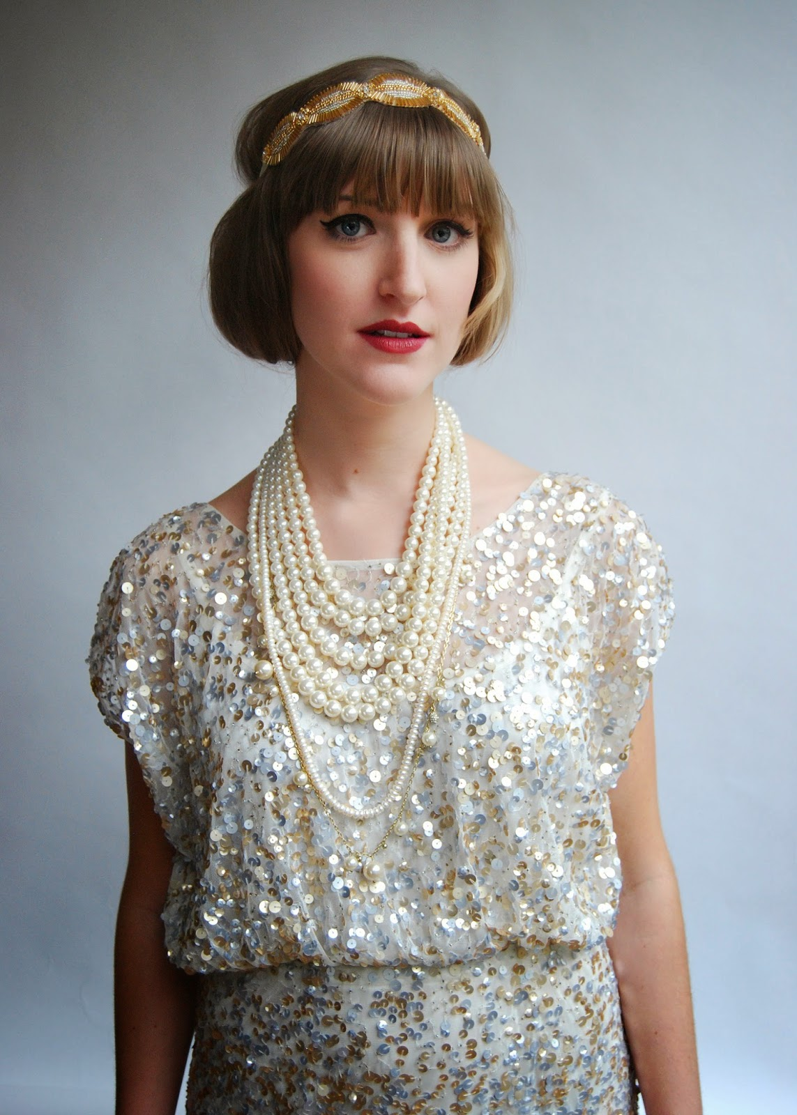 A 1920's, Great Gatsby-inspired modern party dress ...