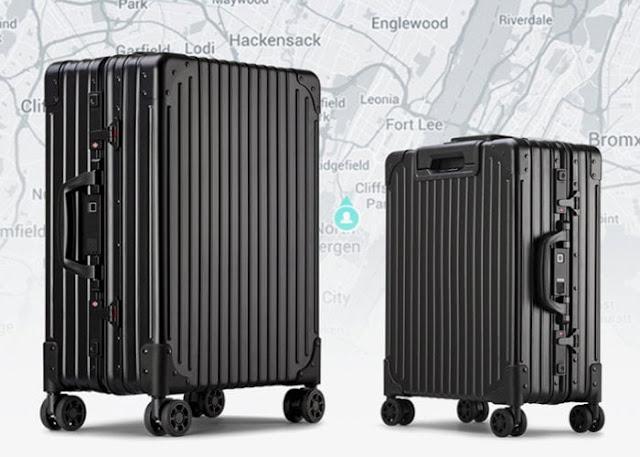 NOVI affordable aluminium smart luggage