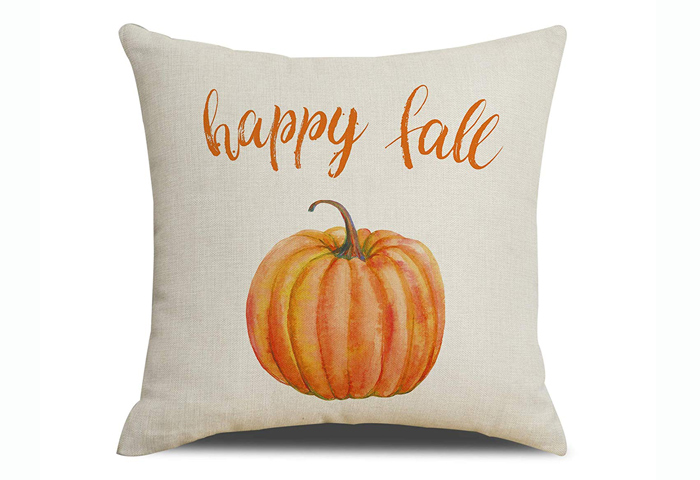Fall Pumpkin Pillow