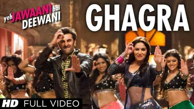 घाघरा Ghagra Lyrics In Hindi - Yeh Jawaani Hai Deewani