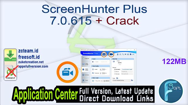 ScreenHunter Plus 7.0.615 + Crack