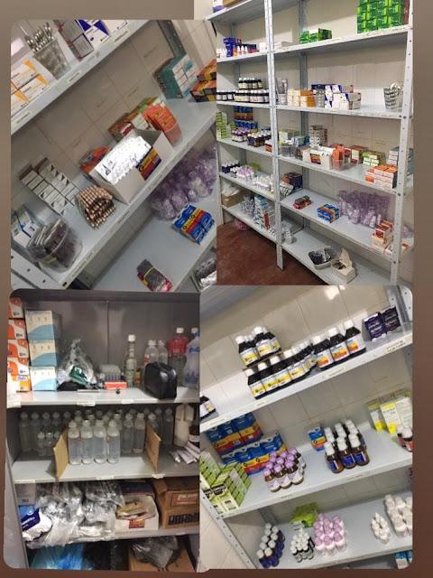 CARNAUBAIS RN-Farmácia básica abastecida: compromisso da gestão Marineide Diniz com a saúde no distrito de Entroncamento