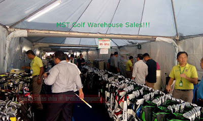 MST Golf Warehouse Clearance Sale