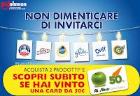 Vinci una Gift Card Alì da 50€ con SC Johnson : 100 premi in palio