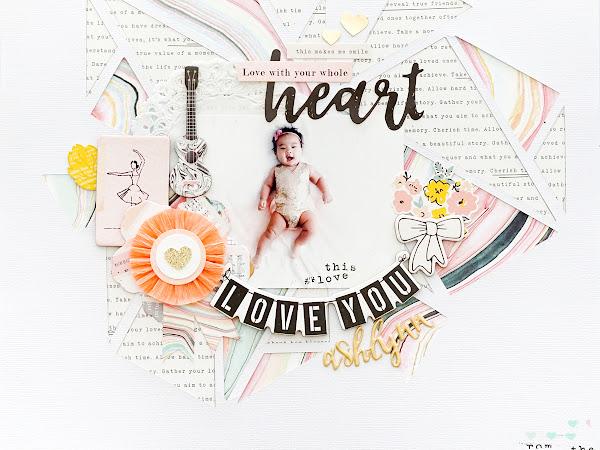 Maggie Holmes Design Team : Love You Ashlynn
