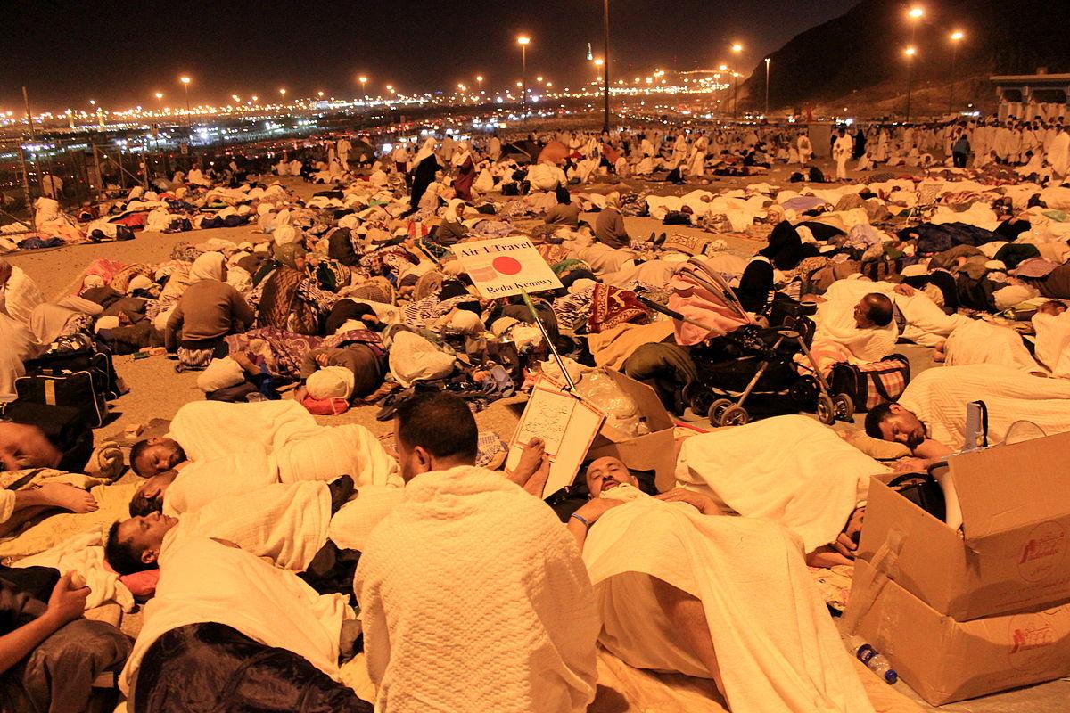 Hukum meninggalkan Muzdalifah jika Telah Lewat Tengah Malam