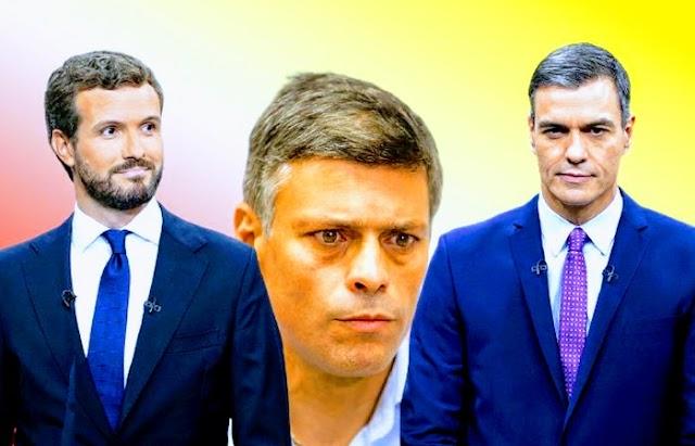 Pablo Casado solicitó a Pedro Sánchez no tramitar la extradición de Leopoldo López a Venezuela