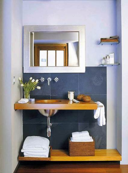 5 Tips For Decorating Small And Simple Bathrooms 4