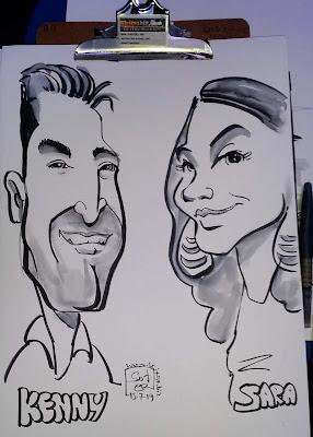 Εκδηλώσεις καρικατούρας caricature events: Εταιρική εκδήλωση.