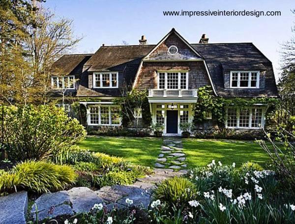 Amplia casa estilo Country en Norteamérica