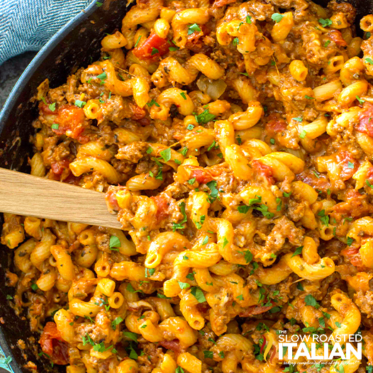 One Pot American Goulash With Video