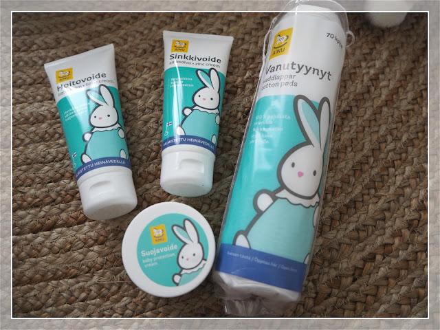 vauvan ihonhoito