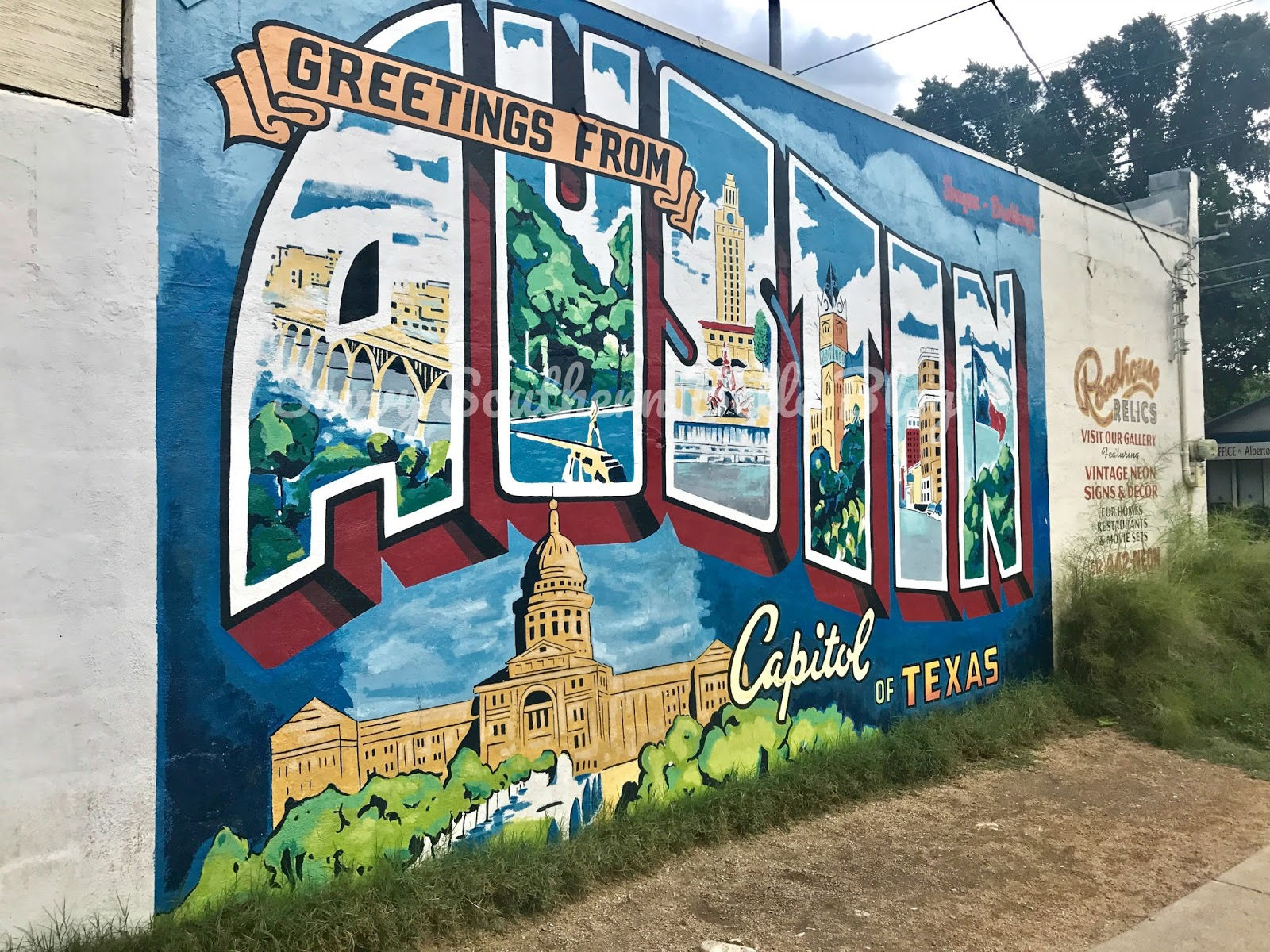 Savvy southern belle 17 awesome austin murals for Austin mural location