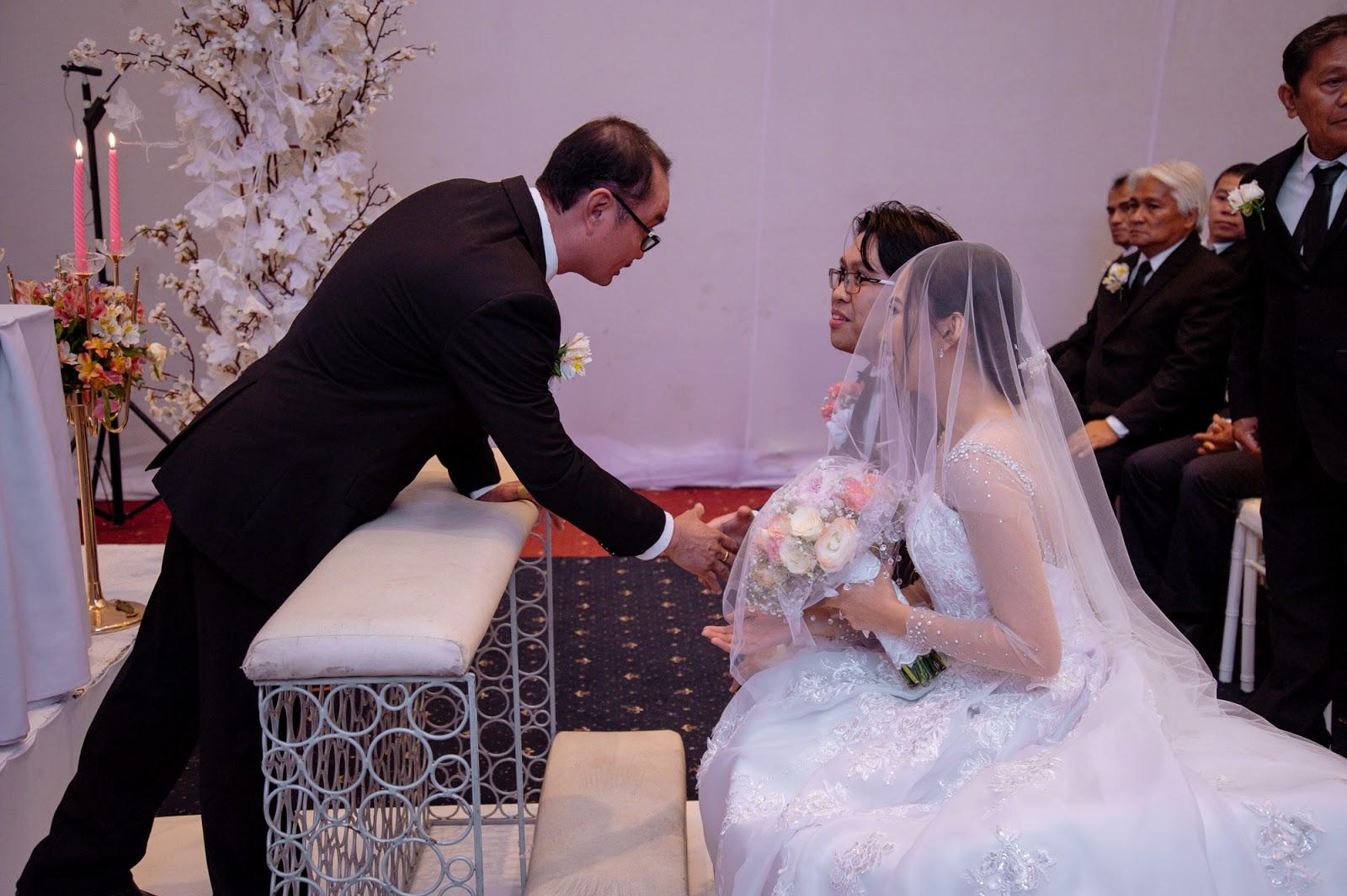 our Christian wedding