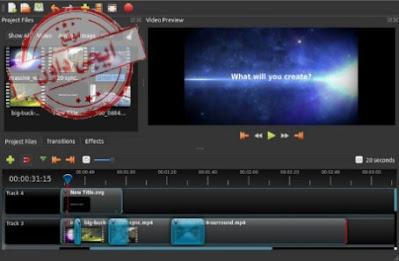 أفضل برامج مونتاج الفيديو المجانية 2020