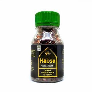 Habbatussauda Oil Kapsul Minyak HABSA