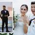 Rocco Nacino, Mellisa Gohing tie the knot at BRP Davao Del Sur navy ship