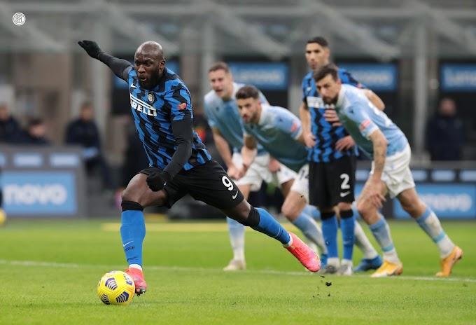 Serie A: l'Inter supera 3-1 la Lazio ed è prima in classifica