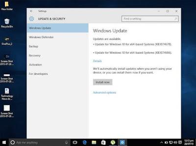 Matikan Pembaruan Otomatis di Windows 10