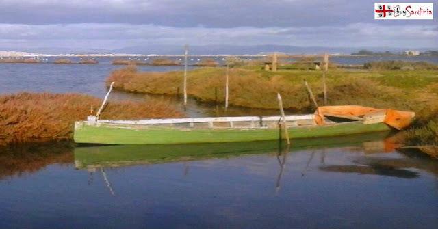foto La laguna di Santa Gilla con buysardinia