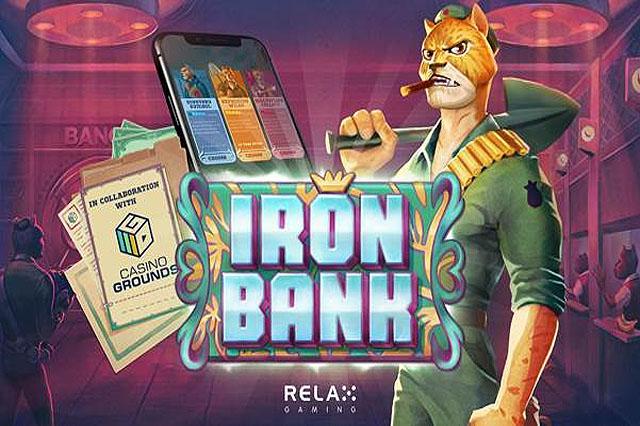 ULASAN SLOT RELAX GAMING IRON BANK
