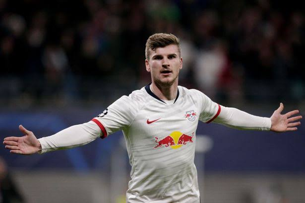 Barcelona set to rival Liverpool in the race to sign Timo Werner