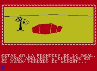 Aventura conversacional Yenght - ZX Spectrum