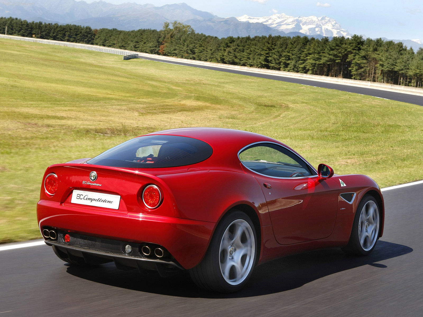 Automotive Database: Alfa Romeo 8C Competizione