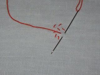 Seed Stitch - Punto seme