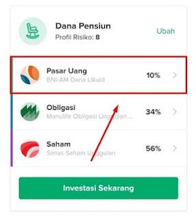 Produk reksa dana instrumen pasar uang