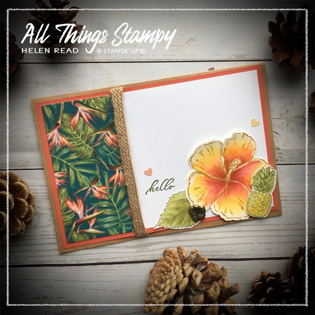 Timeless Tropical Stampin' Up AllThingsStampy Helen Read