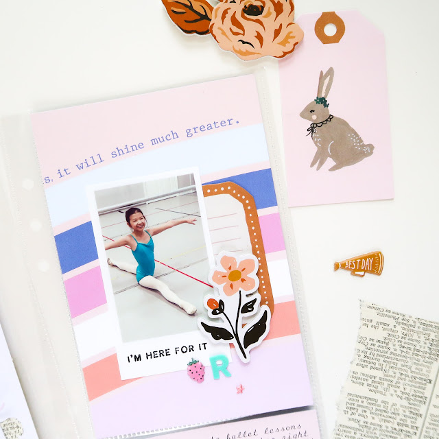 Citrus Twist Kits, Pocket Page, Sunday Sketch, Life Crafted