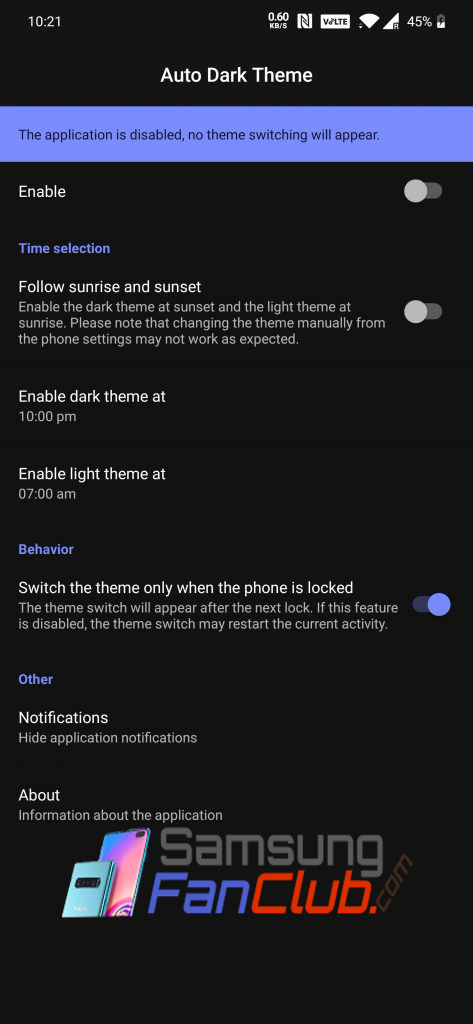 How to Enable Dark Theme Mode on Samsung Galaxy S10+ & Note10+?