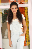 Mishti Chakraborty in lovely Jumpsuit and crop top at Wings Movie Makers Production No 1 movie launch ~  Exclusive 43.JPG