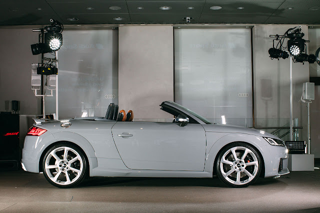 The new Audi TT RS Roadster