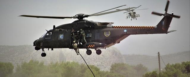 Έρχονται τα ελικόπτερα ΝΗ-90 από τη Γαλλία: Στην τελική υπογραφή η Διοίκηση Ειδικού Πολέμου