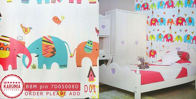 jual wallpaper anak anak surabaya