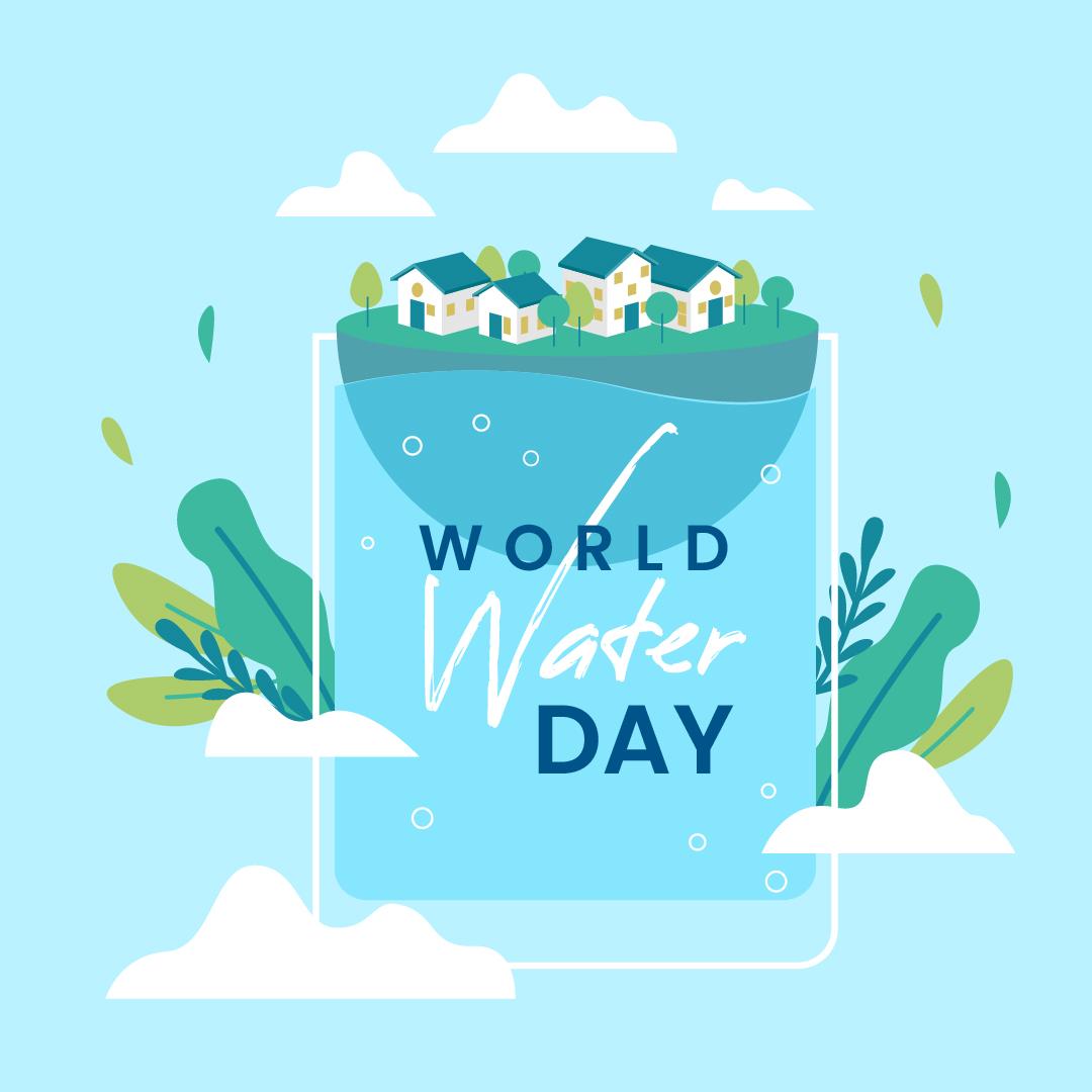 Gambar Ucapan Selamat Hari Air Sedunia 2021